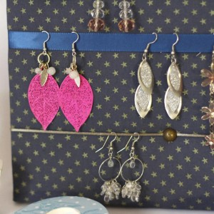 Porte bijoux Etoiles d'or
