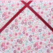 Cadre barrettes en fleurs