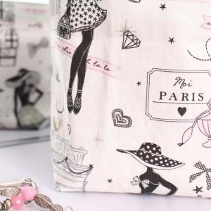 Panière Paris rose