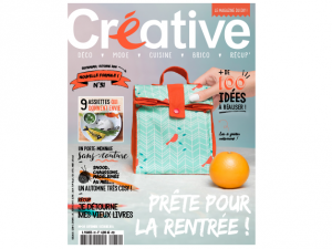 Parution presse magazine Créative