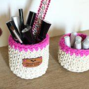 Pots à make up, produits de bébé