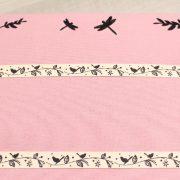Porte bijoux rose aux Oiseaux