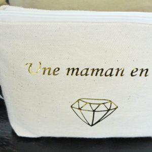 Trousse à maquillage Pochette de sac diamant