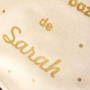 Pochon sac Le petit bazar de confettis personnalisable