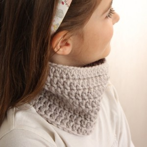 Snood tour de cou enfant 1tour