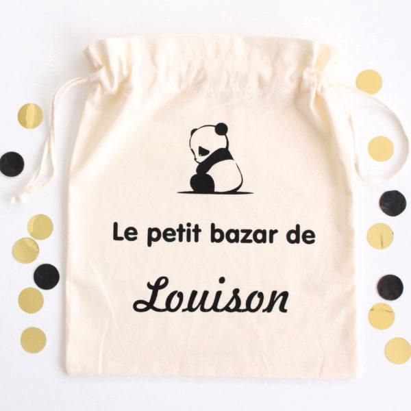 Pochon panda Le petit bazar de