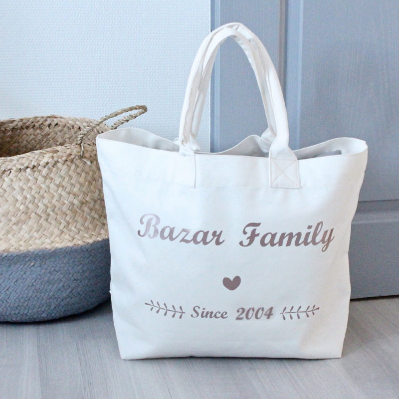 db10d28353 Sac Cabas Bazar Family Personnalisable