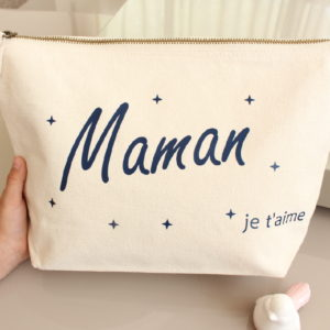 Grande Trousse de toilette maquillage Personnalisable