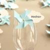 Marque-verre Marque-place Moulin à vent et Nuage bleu ciel