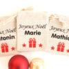 """Mini hotte de Noël personnalisable Marque place Déco de table Noël """"cadeau"""""""