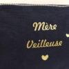 """Trousse marine pompon or """"Mère Veilleuse"""""""