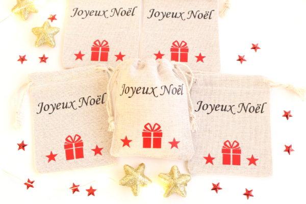 """Mini hotte de Noël Décoration de table Noël """"cadeau"""""""