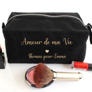 """Trousse """"Amour de ma Vie"""" personnalisable"""