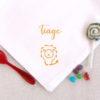 Serviette de table Petit Lion personnalisable avec un prénom