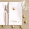 Serviette de table Petites étoiles personnalisable