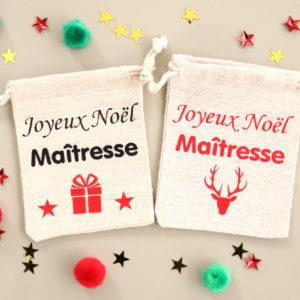 Mini hotte Joyeux Noël maîtresse
