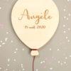 Ballon bois Angèle date naissance