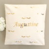 Coussin cils or brillant Augustine