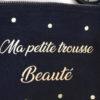 Pochette noire Ma petite trousse Beauté confettis
