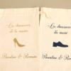 Pochons à chaussures des mariés