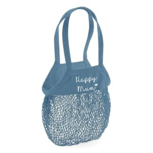 Sac filet en coton bio personnalisable